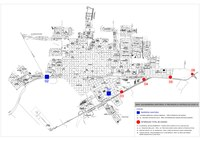 Dois acessos de Adamantina terão barreiras sanitárias