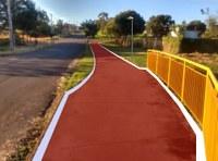 Pista de caminhada do Parque Caldeiras receberá pintura e iluminação