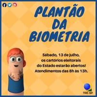 Plantão de Biometria