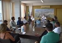 Poder Executivo e Poder Legislativo realizam reunião de trabalho