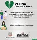"""Prefeitura de Adamantina adere a """"Campanha Vacina contra a Fome"""" do Governo do Estado de São Paulo"""