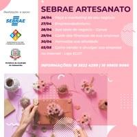 Prefeitura de Adamantina e Sebrae desenvolvem iniciativa destinada aos artesãos que atuam do município
