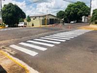 Prefeitura de Adamantina executa plano de melhorias em sinalização de trânsito