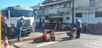 Prefeitura de Adamantina inicia instalação de semáforo no Parque dos Pioneiros